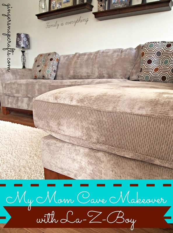 #momcave makeover with La-Z-Boy Furniture Galleries #cbias