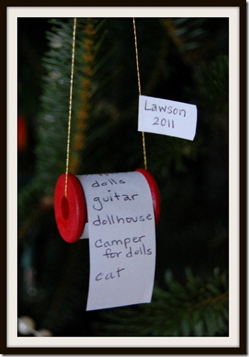 Lawson's Wishlist