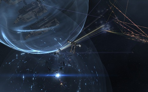 eve online big battle