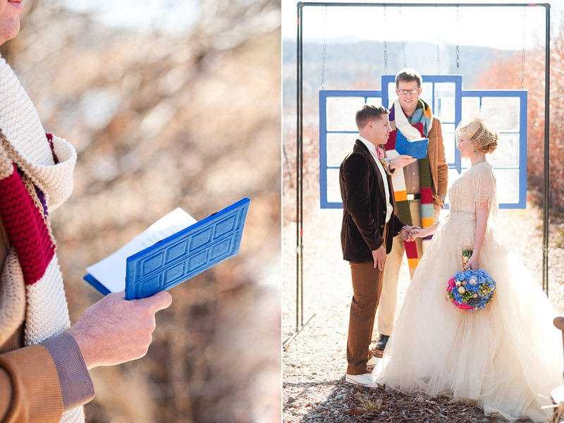 Doctor Who Inspired Wedding