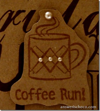 Coffee Run Closeup