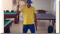 Neymar con los colores de Boca