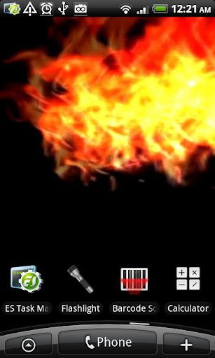 VA Fire Magic Wallpaper