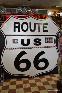 Largest US 66 Shield