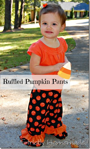 Ruffled Pumpkin Pants 2
