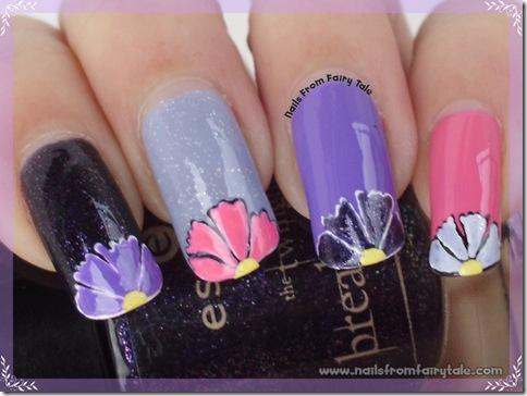 skittle purple flowers