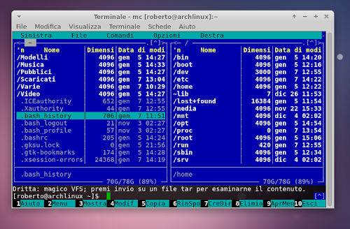 Midnight Commander 4.8.7