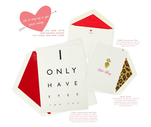 Mrs. John L. Strong has such chic Valentine's Day cards -- the