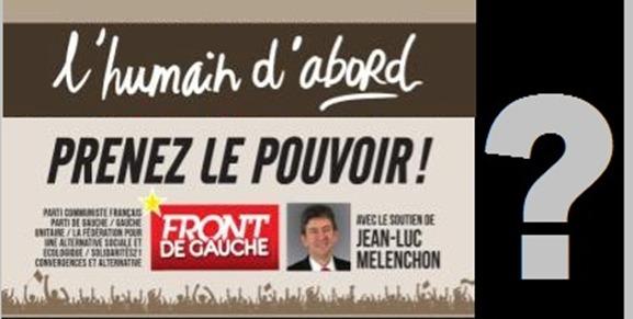 Humain d'abord Front de Gauche