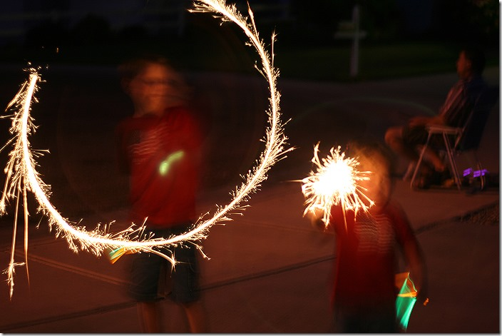 web sparklers