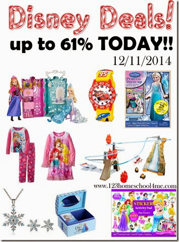 disney deals - save up to 60% on Disney toys, clothes, and more TODAY only!