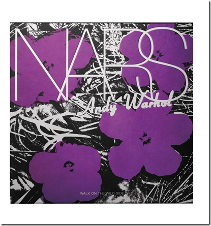 NARS Andy Warhol Walk On The Wild Side packaging