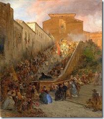 518px-Oswald_Achenbach_Prozession_an_der_Santa_Maria_in_Aracoeli_in_Rom