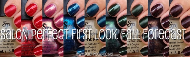 Salon Perfect First Look Fall Polish Forecast