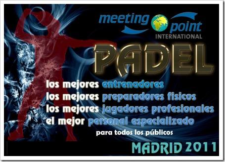 Convención de Pádel Internacional próximamente en Madrid: Pádel para todos.