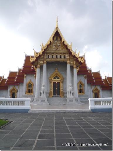 泰國曼谷-大理石寺正面