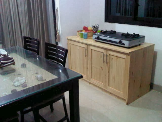Weekend project project sample kitchen cabinet 2 for Kitchen set kayu jati belanda