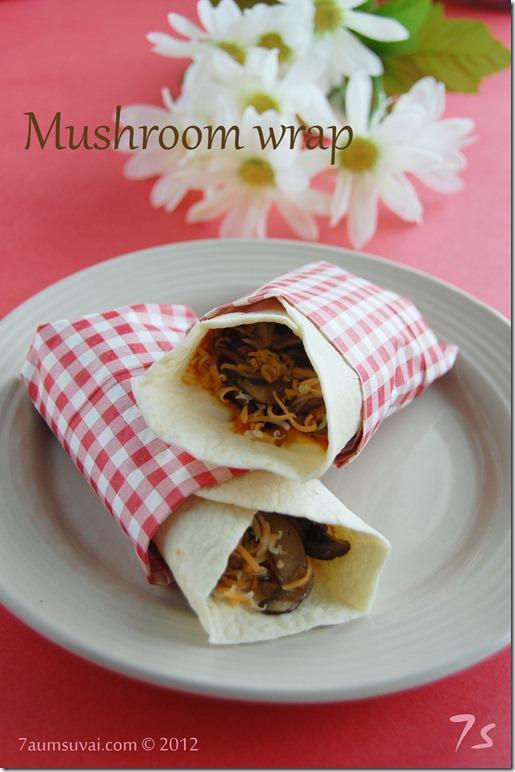 Mushroom wrap