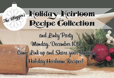 Holiday Recipe {free e-book} & recipe link up