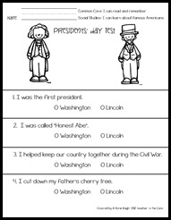 Presidents' day Test1