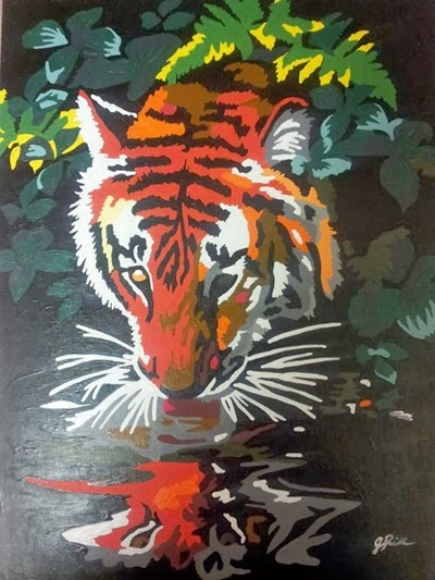 The Tiger Jessica Riddell