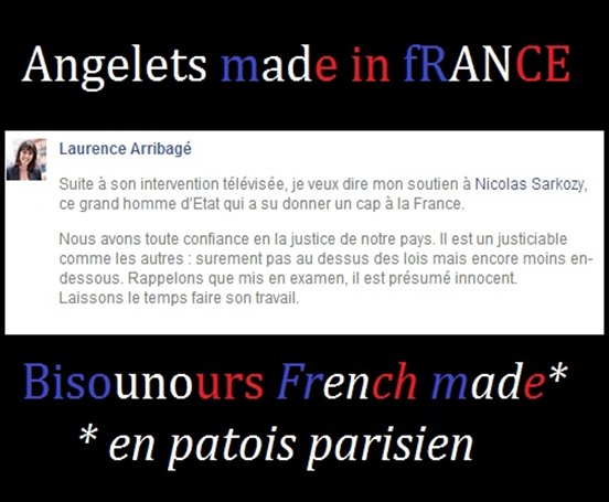 Sarkozy bisounours made in France