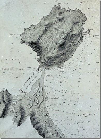 448px-Isleta-peninsula-Gran-Canaria-Old-Map-1879 Pepelopex