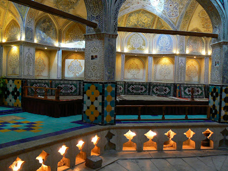 Kashan: traditional Iran Hammam