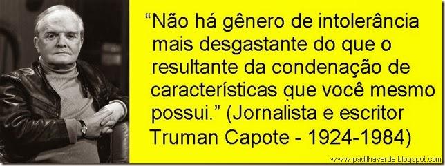 Platão Truman Capote 1982 NYC DM