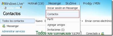 recupera tus contactos eliminados en windows live 1