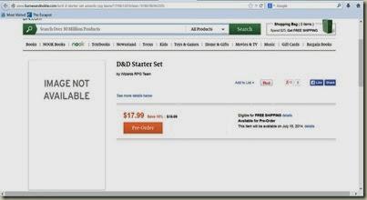 D&D Next Starter Set