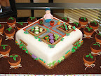 Garden cake