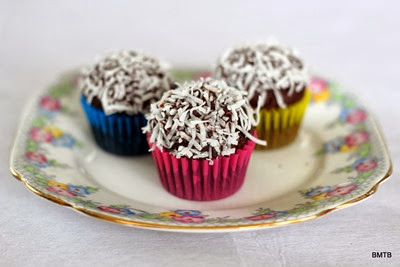 Mini Chocolate Coconut Cupcakes (3)