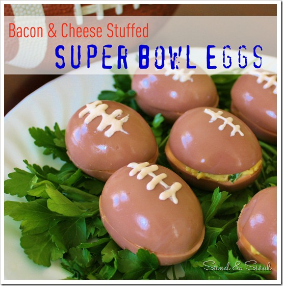 Ovos Super Bowl - Bacon & Cheese Stuffed