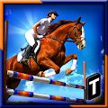 Horse Show Jump Simulator 3D APK for Bluestacks