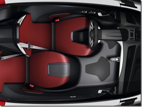 2011 Audi Urban Concept top view