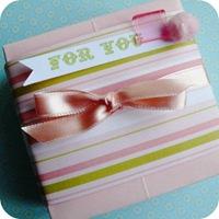 cafecreativo - tutorial scatolina di carta - bomboniere