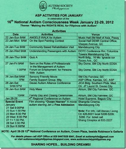 ACW Activities updated