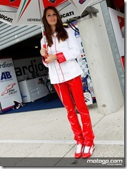 Paddock Girls Monster Energy Grand Prix de France  20 May  2012 Le Mans  France (18)