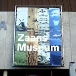 zaans museum entrance in Zaandam, Noord Holland, Netherlands