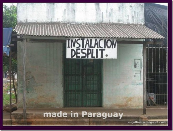 made in paraguay