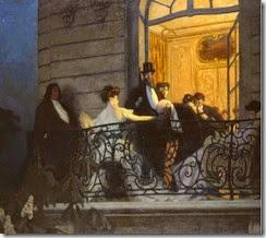 Le Balcon - René François Xavier Prinet - 1906