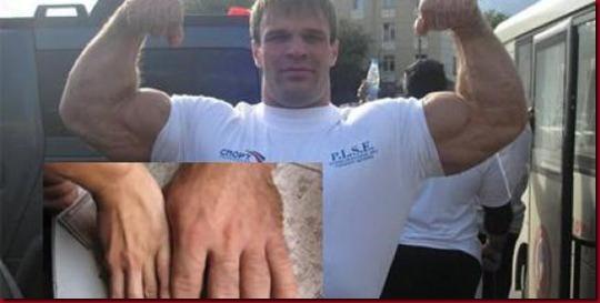 Ditemukan Raksasa Hulk Di Rusia'