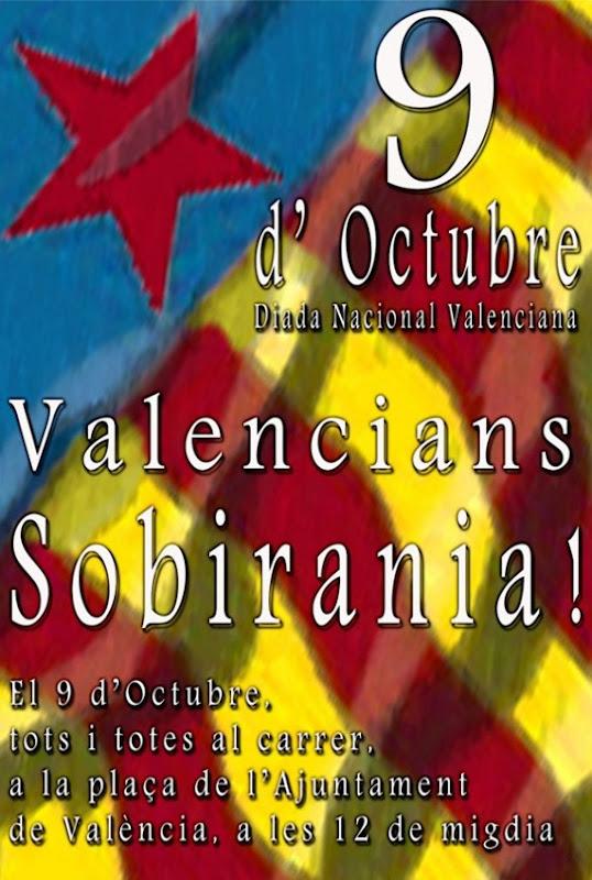 aficha Diada Nacional de València