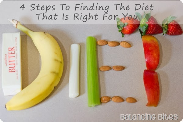 Balancing Bites - 4 Steps To Finding The Diet That Is Right For You