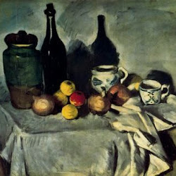 Paul Cezanne (1871): Still Life. Nationalgalerie. Berlín. Impresionismo