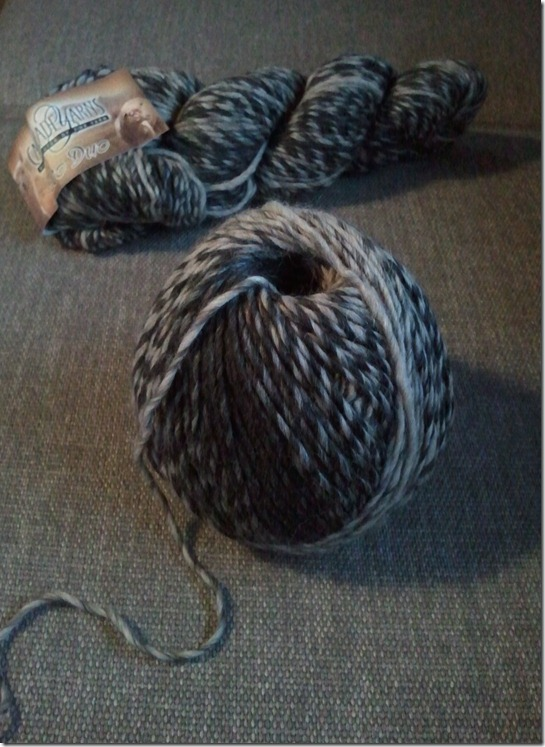 Yarn used for cowl neck warmer