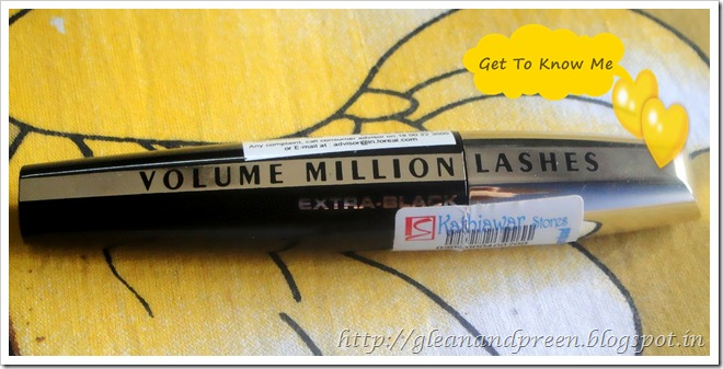 Loreal Million Lashes Mascara Review Test