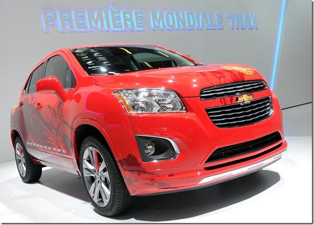 Chevrolet Trax  (2)