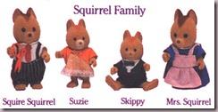 Maple Squirrel Family